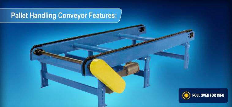 Pallet Handling Conveyors New London Engineering
