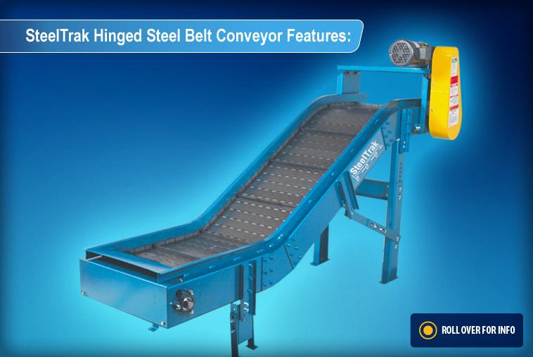 Hinged Steel Belt Conveyors Steeltrak Conveyor Systems